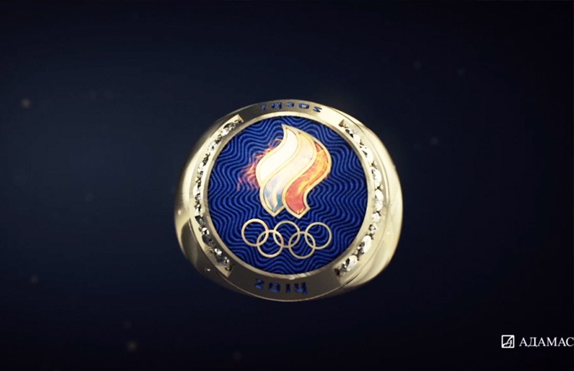 Adamas Commercial Rings for Olympic Champions CG